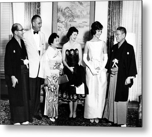 1960s Metal Print featuring the photograph Japanese Foreign Minister Zentaro by Everett