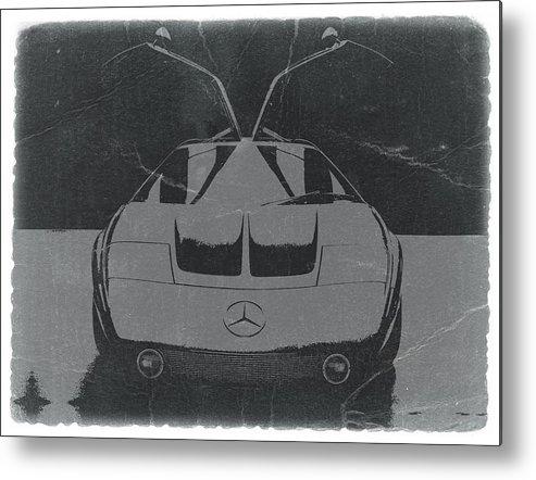 Mercedes Benz C Iii Concept Metal Print featuring the photograph Mercedes Benz C IIi Concept by Naxart Studio