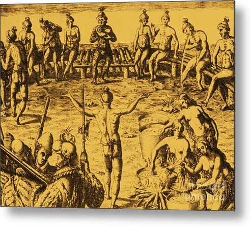 History Metal Print featuring the photograph Native Amercian Medicine by Science Source