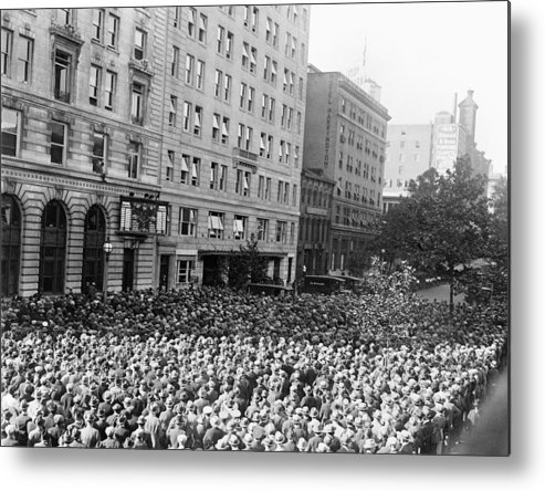 1925 Metal Print featuring the photograph World Series, 1925 by Granger