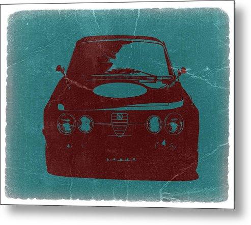 Alfa Romeo Gtv Metal Print featuring the photograph Alfa Romeo Gtv by Naxart Studio