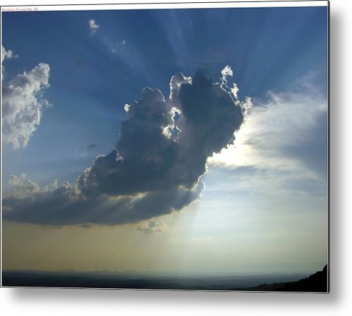 Sunset Metal Print featuring the photograph Radiance by John Geck