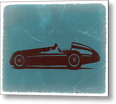 Metal Print featuring the photograph Alfa Romeo Tipo 159 Gp by Naxart Studio