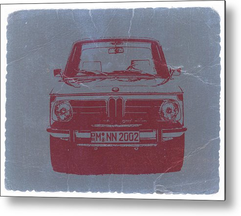 Bmw 2002 Metal Print featuring the photograph Bmw 2002 by Naxart Studio
