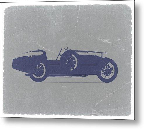 Bugatti Type 35 Metal Print featuring the photograph Bugatti Type 35 by Naxart Studio