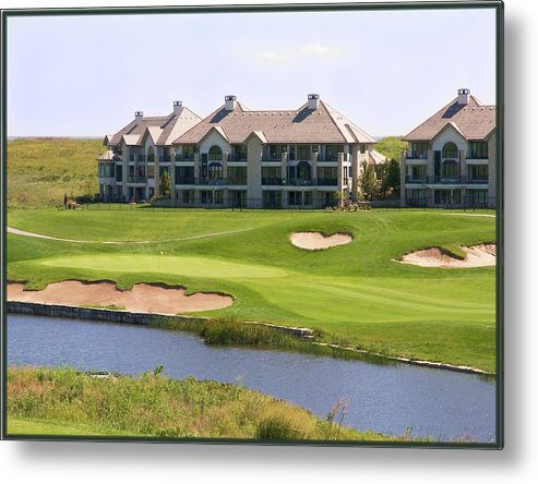 Golf Metal Print featuring the photograph Colbert Hills Golf Course by Jim Darnall