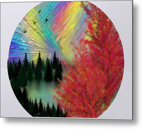 Zh Dove Metal Print featuring the digital art Dream by ZH Dove
