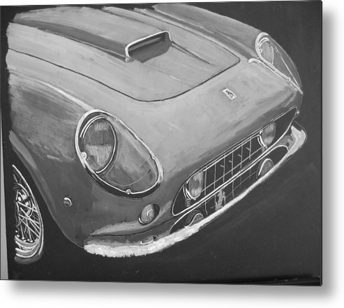 Car Metal Print featuring the painting Ferrari F250 California by Richard Le Page