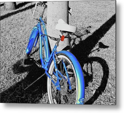 Bike Metal Print featuring the photograph Full Tilt by JAMART Photography