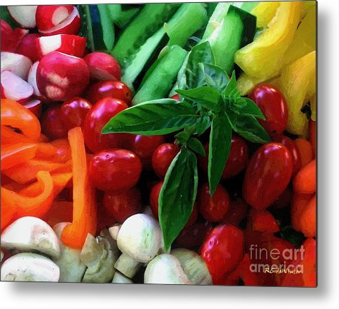 Food Metal Print featuring the painting Good Stuff by RC DeWinter