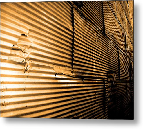 Photography Metal Print featuring the photograph Hometown Pt.5 by Jeff DOttavio