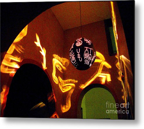 Darian Day Metal Print featuring the photograph House Of Runes 1 By Darian Day by Mexicolors Art Photography