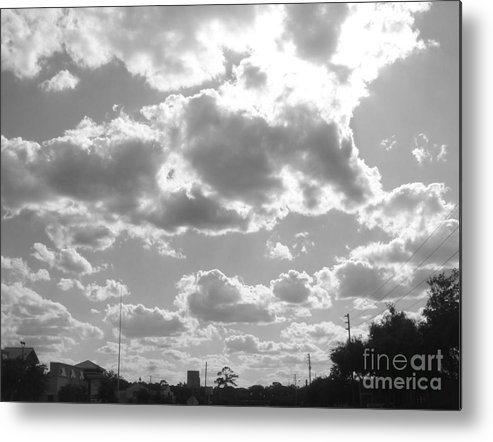Clouds Metal Print featuring the photograph Mostly Cloudy by WaLdEmAr BoRrErO