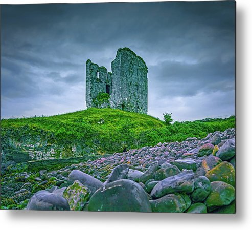 Castle Metal Print featuring the photograph Mysterious Past #e6 by Leif Sohlman