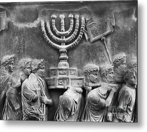 Ancient Metal Print featuring the photograph Rome: Arch Of Titus by Granger
