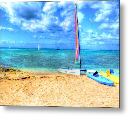 Ocean Metal Print featuring the photograph Sailaway by Debbi Granruth