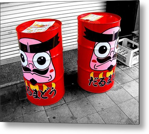 Daruma Metal Print featuring the photograph Sentinels by Roberto Alamino