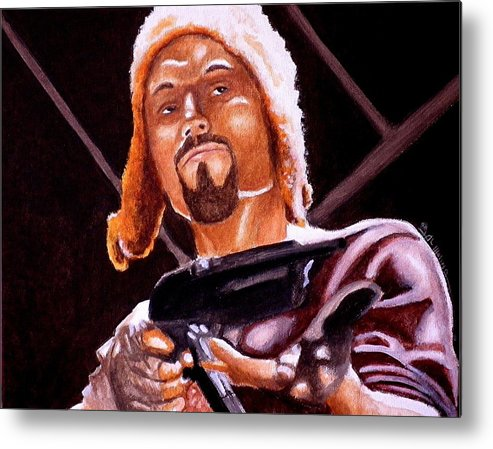 Firefly Metal Print featuring the painting Shiny Lets Be Bad Guys by Al Molina