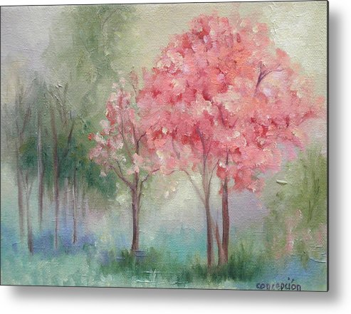 Spring Metal Print featuring the painting Sign Of Spring by Ginger Concepcion