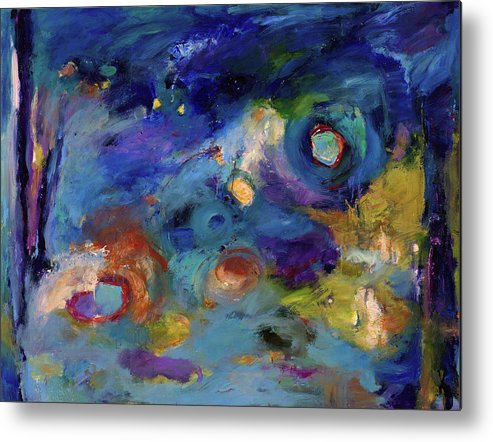 Abstract Art Metal Print featuring the painting Solitude Of Dreams by Johnathan Harris