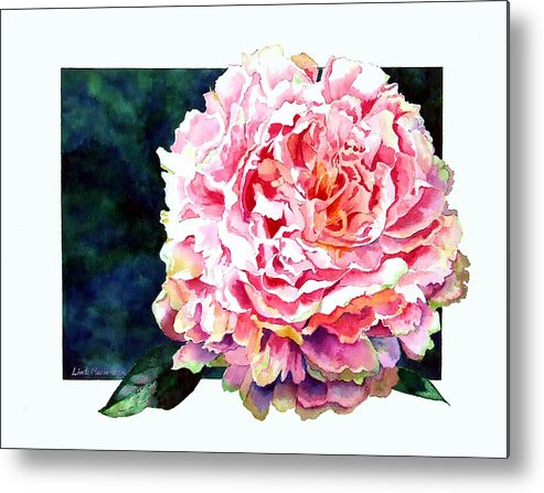 Peony Metal Print featuring the painting The Ant's Castle by Linda Marie Carroll