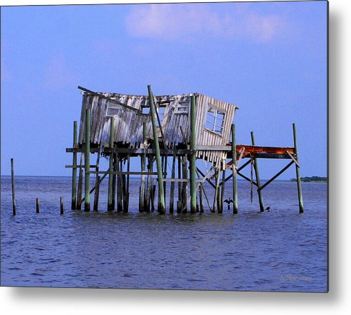 Cedar Key Metal Print featuring the photograph The Honey Moon Suite 4 - Debbie May - Phtosbydm by Debbie May