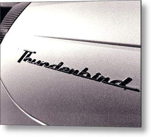 Ford Metal Print featuring the photograph Thunderbird by Jeff Porter