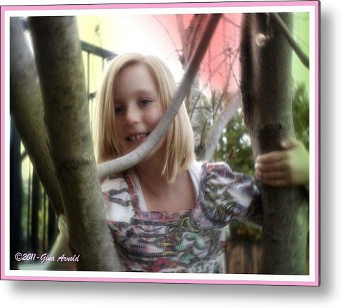 Tree Metal Print featuring the photograph Tomboy by Regina Arnold