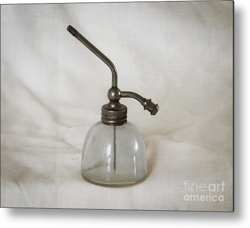 Vintage Metal Print featuring the photograph Vintage Fragrance Bottle by Phil Perkins