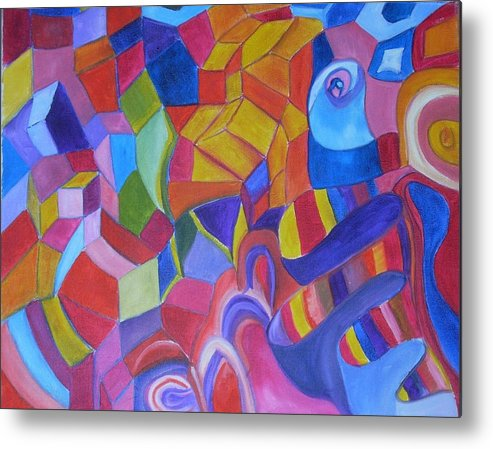 Metal Print featuring the painting Warms And Colds by Joseph Arico