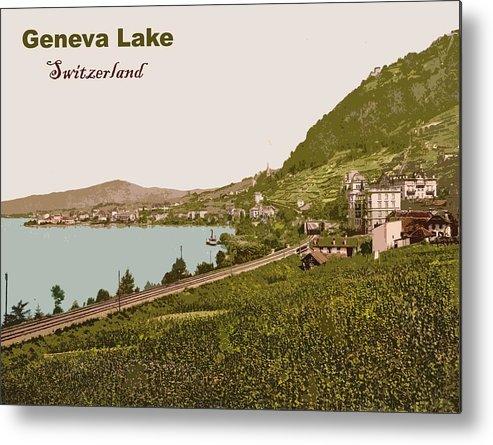 Geneva Metal Print featuring the photograph Geneva Lake by Long Shot