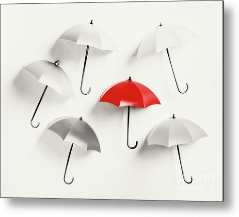 Umbrella Metal Print featuring the photograph Parasol Pop by Jorgo Photography - Wall Art Gallery