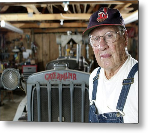 People Metal Print featuring the photograph Bob Hall by Icon Sports Wire