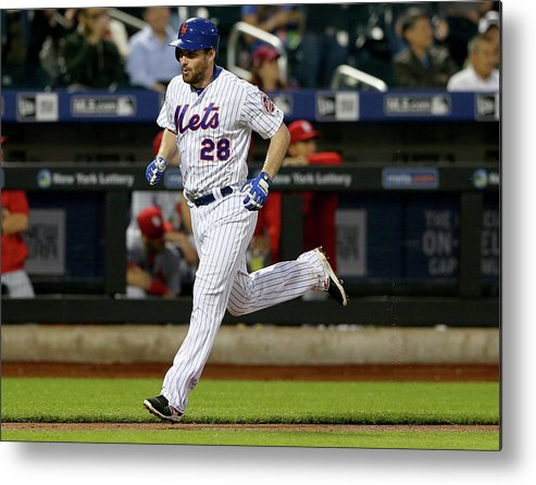 People Metal Print featuring the photograph Daniel Murphy by Elsa