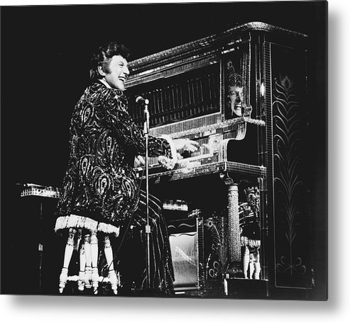 classic Metal Print featuring the photograph Liberace by Retro Images Archive