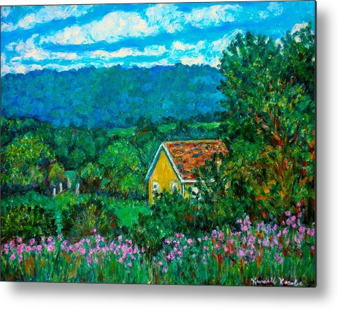 Landscape Metal Print featuring the painting 460 by Kendall Kessler
