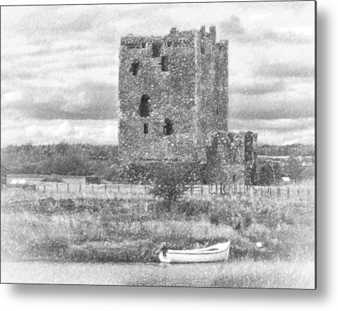 Boat Castle Scotland Metal Print featuring the photograph And Relax by Paul Martin