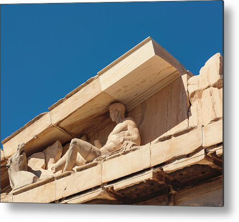 Acropolis Metal Print featuring the photograph Athens, Greece by Ken Welsh