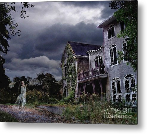 Ghost Metal Print featuring the photograph Castle House by Tom Straub