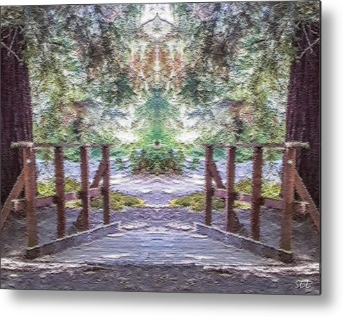 Totem Metal Print featuring the photograph Don't Feed It by Susan Eileen Evans