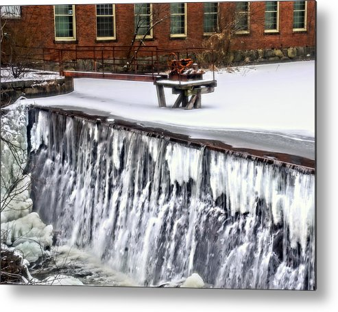 Beaver Metal Print featuring the photograph Dracut 004 by Jeff Stallard