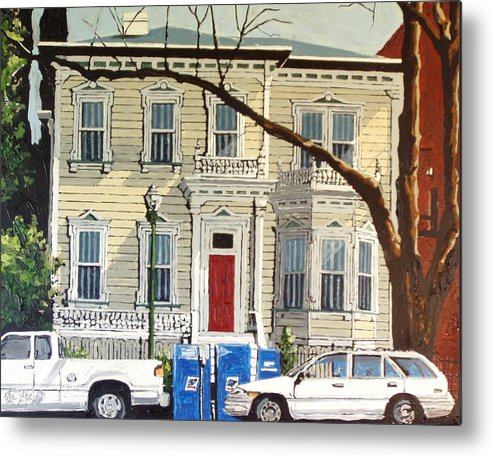 Sacramento Metal Print featuring the painting Eleventh Between I And J by Paul Guyer