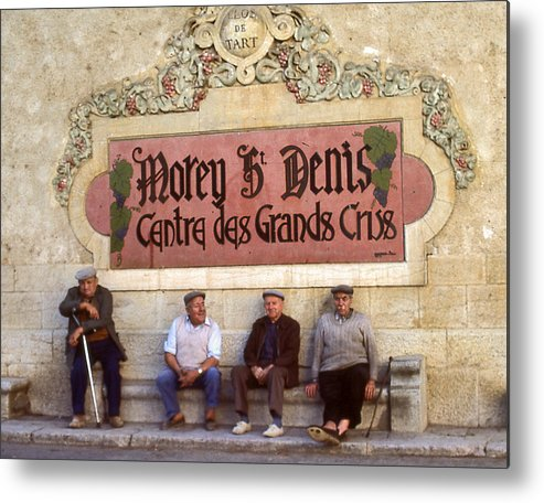 Metal Print featuring the photograph French Gentelman by Mel Felix