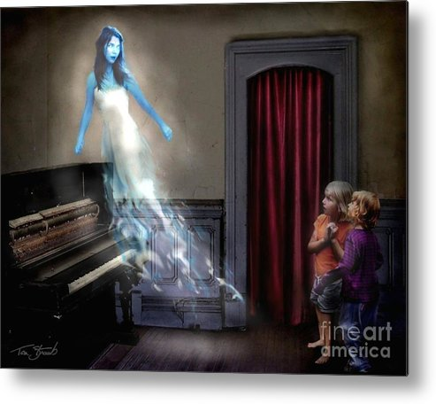 Ghost Metal Print featuring the photograph Ivory Ghost by Tom Straub