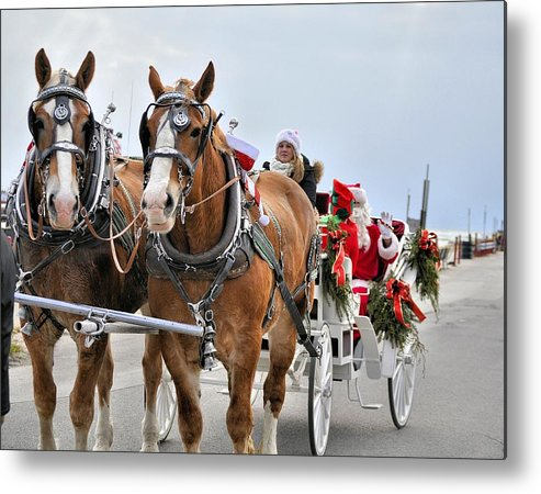 Horse Metal Print featuring the photograph Majestic by Tracy Bennett
