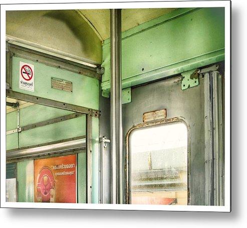 Train Metal Print featuring the photograph Old Thai Train by River Engel