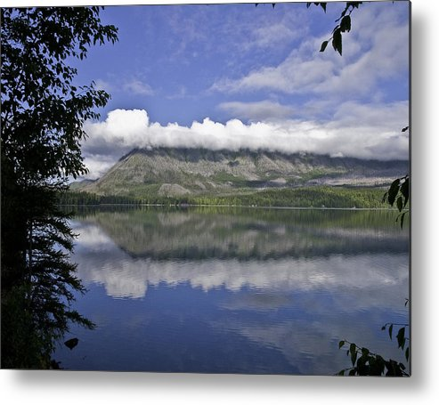 Landscape Metal Print featuring the photograph Reflecting On It by SEA Art