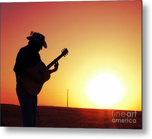 Sunset Metal Print featuring the photograph Sunset Melody by Diana Rose