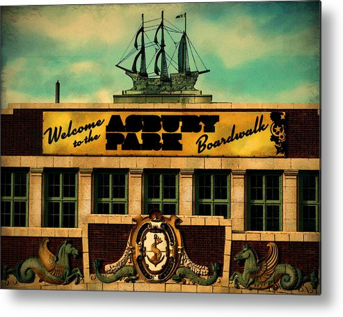 Architecture Metal Print featuring the photograph Welcome To Asbury by Colleen Kammerer