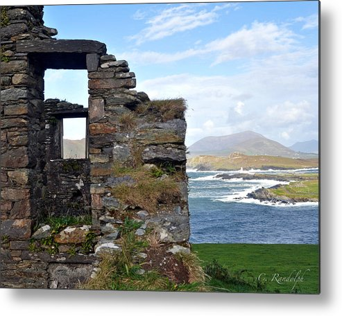 Ireland Metal Print featuring the photograph Window On The World by Cheri Randolph